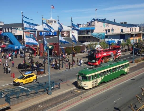 Pier 39 Trolley