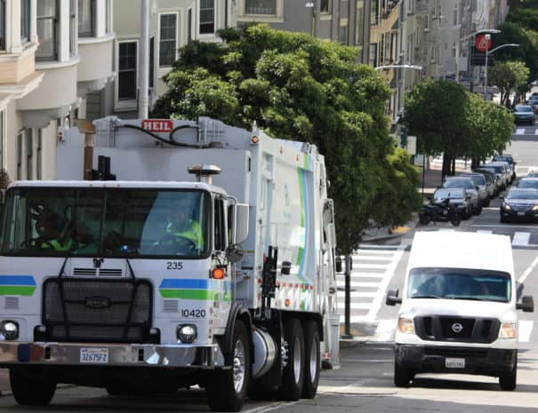 Garbage Truck Taylor St. 3138